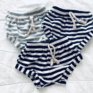 Other - Baby striped shorties size 12 months